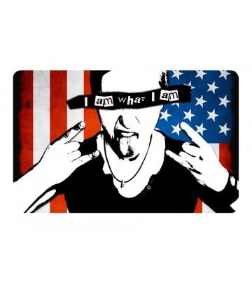 Sticker CB I am what I am