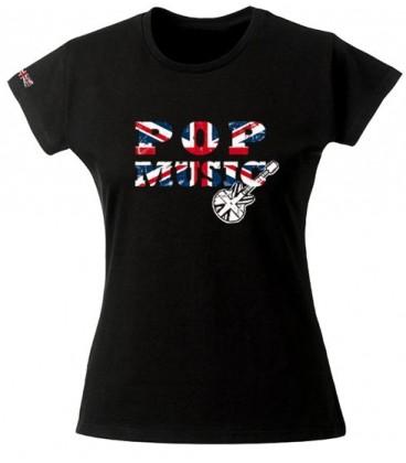 Tee shirt Pop Music