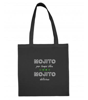 Tote bag sac toile Mojito délicieux