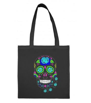 Tote Bag Tête de mort mexicaine