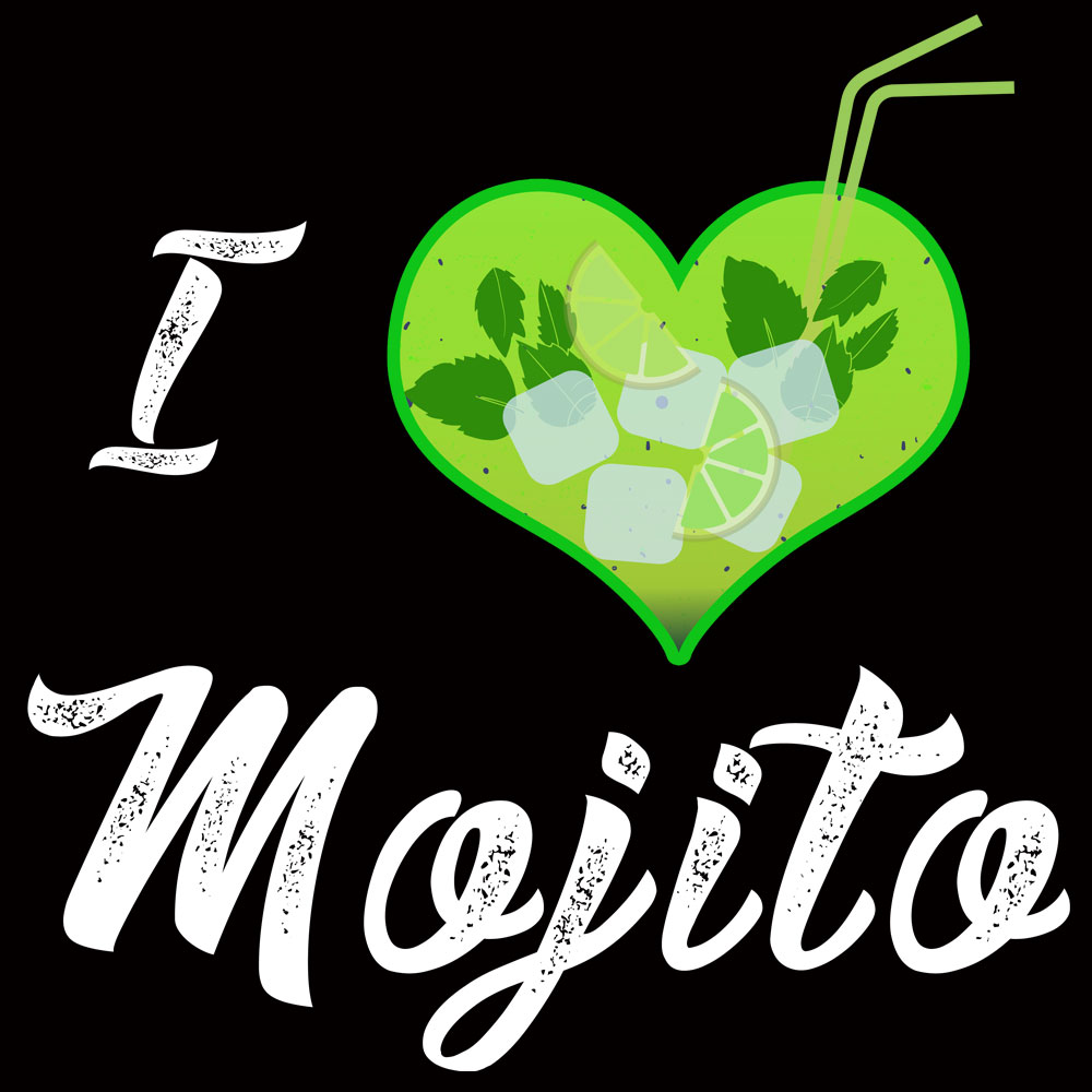 Tee shirt I Love Mojitos