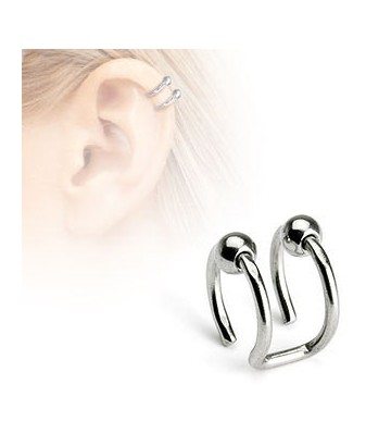 Faux piercing cartilage