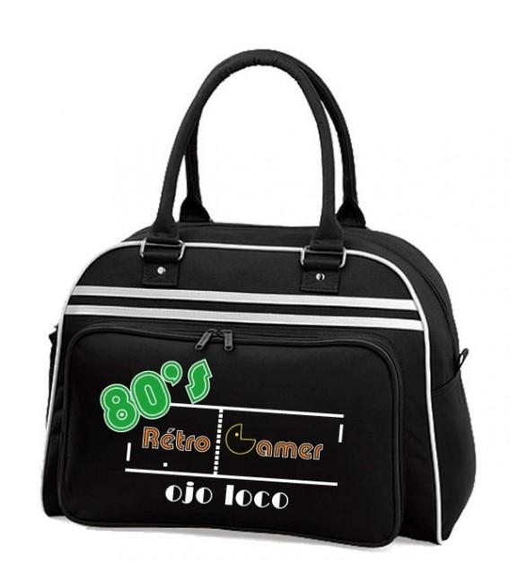 Sac Bowling noir Rétro Gamer
