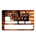 Sticker CB Statue of Liberty