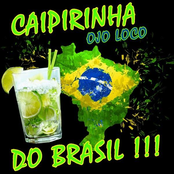 Tee shirt Caipirinha Do Brasil