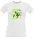 Tee shirt femmeoriginal Caïpirinha Brésil