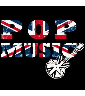 Tee shirt Pop Music