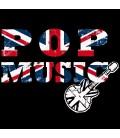 Tee shirt Sympa Pop Music drapeau anglais