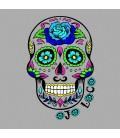 tee shirt tete de mort mexicaine homme et femme