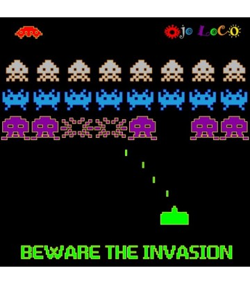 Tee shirt The invasion
