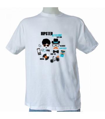 Tee shirt Hipster Attitude