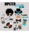 Débardeur Hipster Attitude