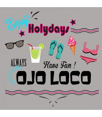 Tee shirt Enjoy Holidays
