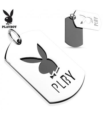 Pendentif Plaque Playboy
