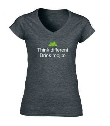 Tee shirt Think different - Drink Mojito