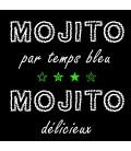 Tee shirt original Mojito par temps bleu