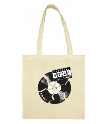 Tote bag Broken vinyle