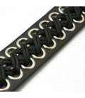Bracelet oeillets lacets