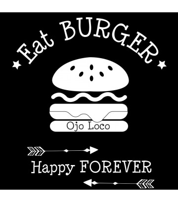 Tee shirt Eat Burger
