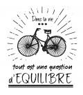T SHIRT avec un dessin de vélo retro