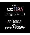 Tshirt Aux States ils ont Donald en France on a Picsou