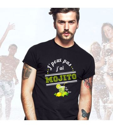 T shirt J'peux pas j'ai Mojito