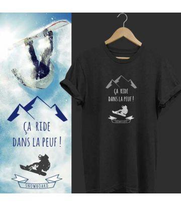 """T shirt """"Ca ride dans la Peuf !"""""""