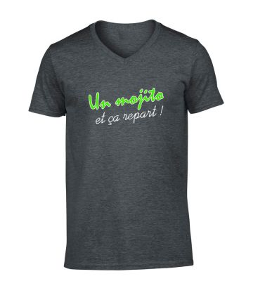Tee shirt Un Mojito et ça repart