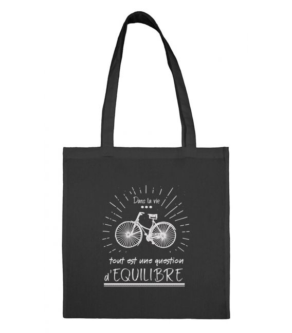 Tote bag Question d'équilibre