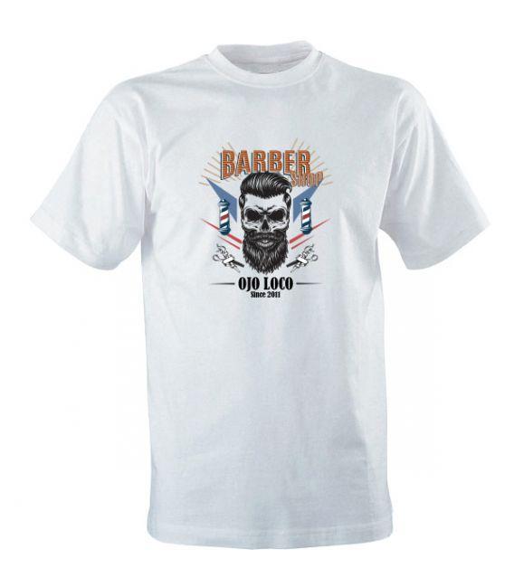 T shirt blanc Barber