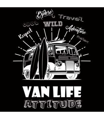 tee shirt Van life