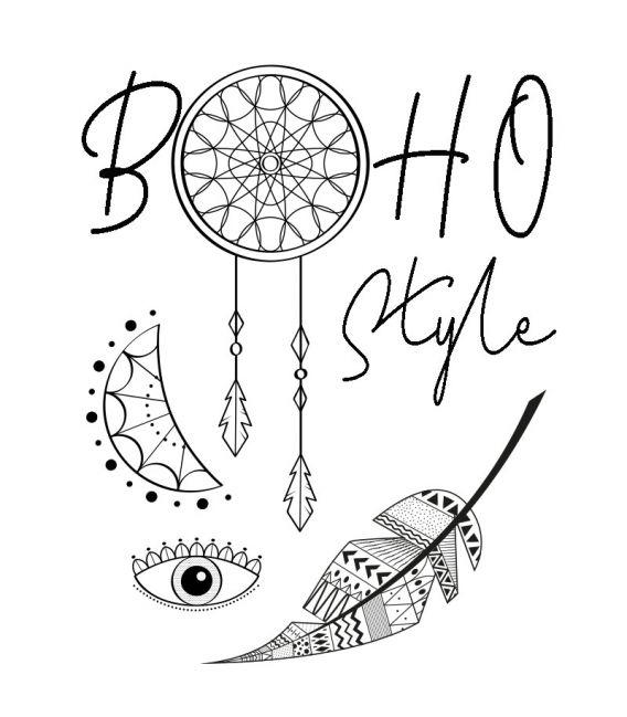 tee shirt Boho Style