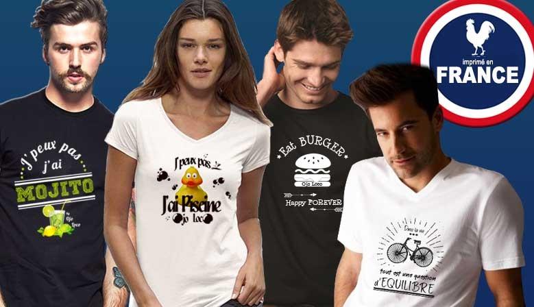 Marque de tee shirt Made in France